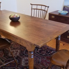 Western Kitchen Table Epson Printer Reclaimed Wood Farm Tables New England Joinery Essex Ma Top