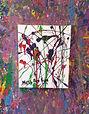 splatter paint canvas