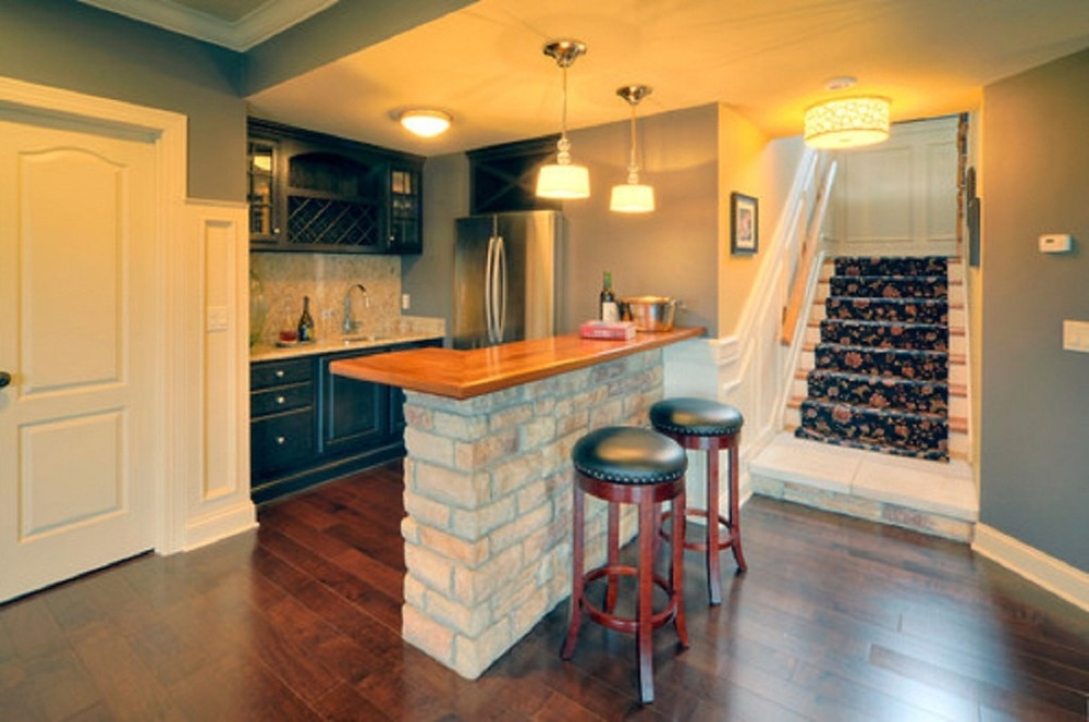 5 Benefits Of Building Your Kitchen In Basement | Kitchen With Stairs To Basement | Next | Mid Century | Living Room | Narrow | Ranch