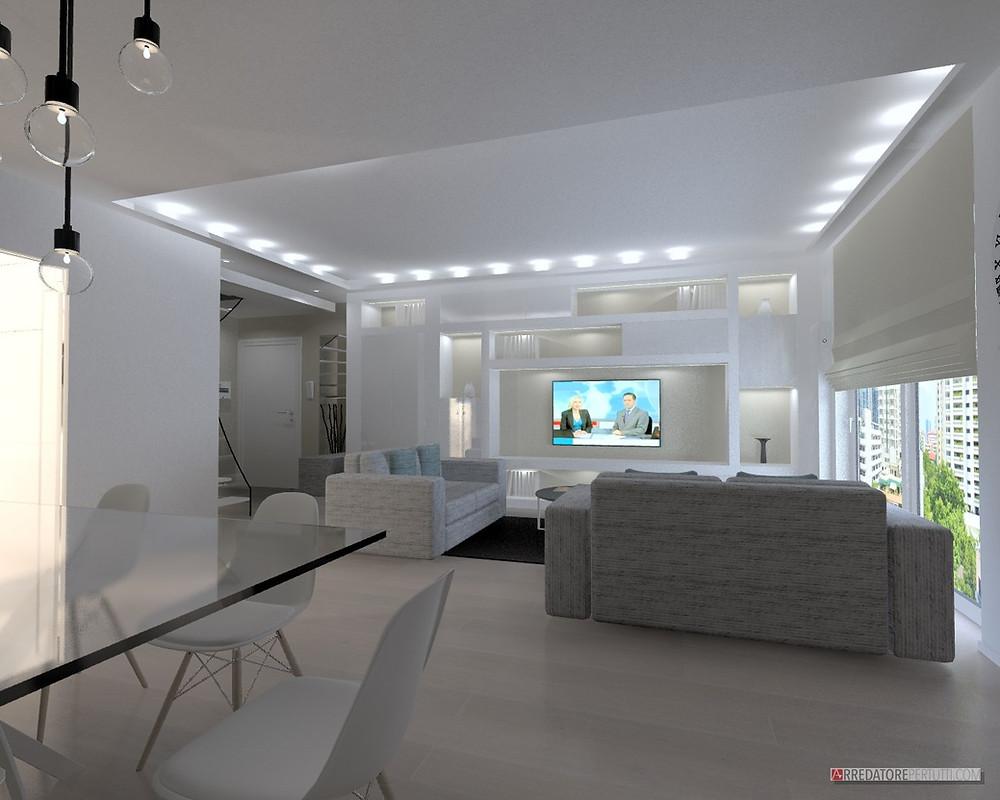 Lindasj2 casa residenziale in pietra contemporanea a due piani con finestre ad arco. Arredare Casa Su Due Piani Spunti E Idee Da Un Progetto