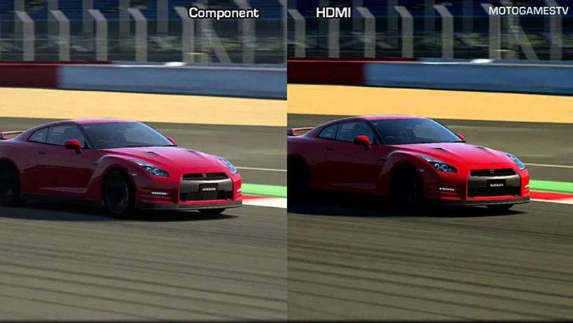 compare SD and HD 1080p