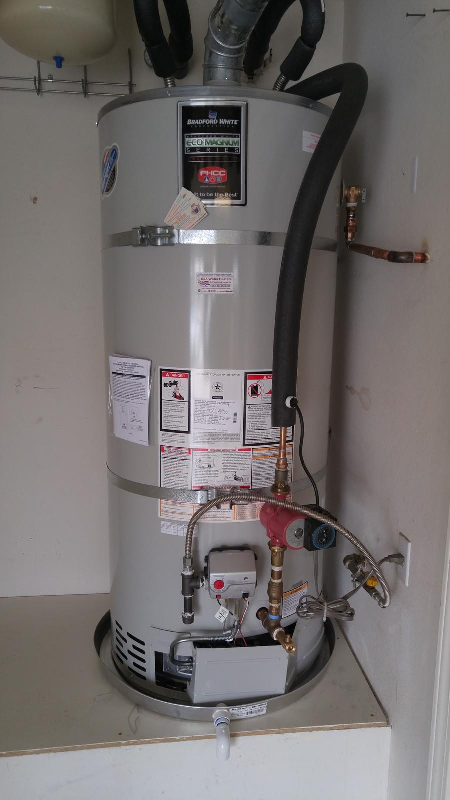 hight resolution of bradford white 75 gal water heater installation