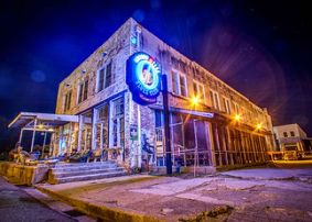 The night time is the right time for Mississippi Delta music at Ground Zero.