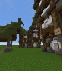 Minecraft Elven Builds 7