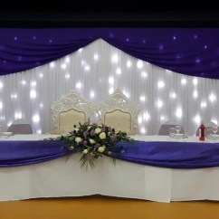 Chair Covers Hire In Wolverhampton Most Comfortable Swivel Cover Midlands Twinkle Light Backdrop Head Table Decor 1 The Atrium Nottingham