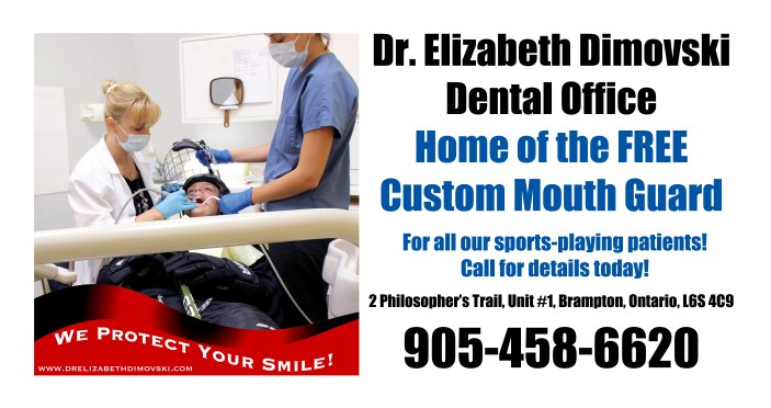 Mouth Guards, Brampton dentists, Hockey protection, lacross, Best mouth Guards,