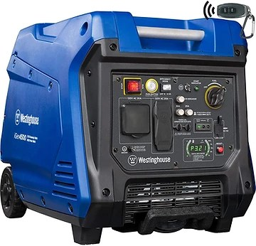 Quiet generator for food trucks - Westinghouse iGen4500 Super Quiet Portable Inverter Generator