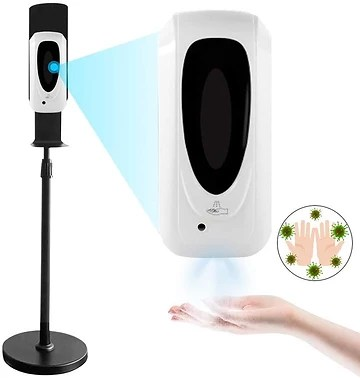 Touchless Free-Standing Hand Sanitizer Dispensers