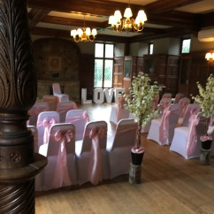 Wedding Chair Covers East Midlands High On Cover Hire Loughborough Notts Leics Derby Weddings Rothley Court Wilberforce Suite