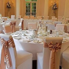 Wedding Chair Covers East Midlands Steamer Australia Cover Hire Loughborough Notts Leics Derby Weddings Rose Gold Sashes Colwick Hall Decor