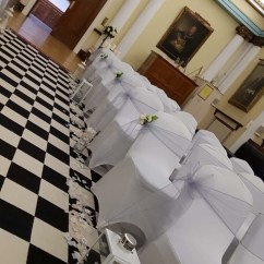 Wedding Chair Covers East Midlands Cover Hire Maidstone Loughborough Notts Leics Derby Weddings Silver Grey Sashes Aisle Lanterns