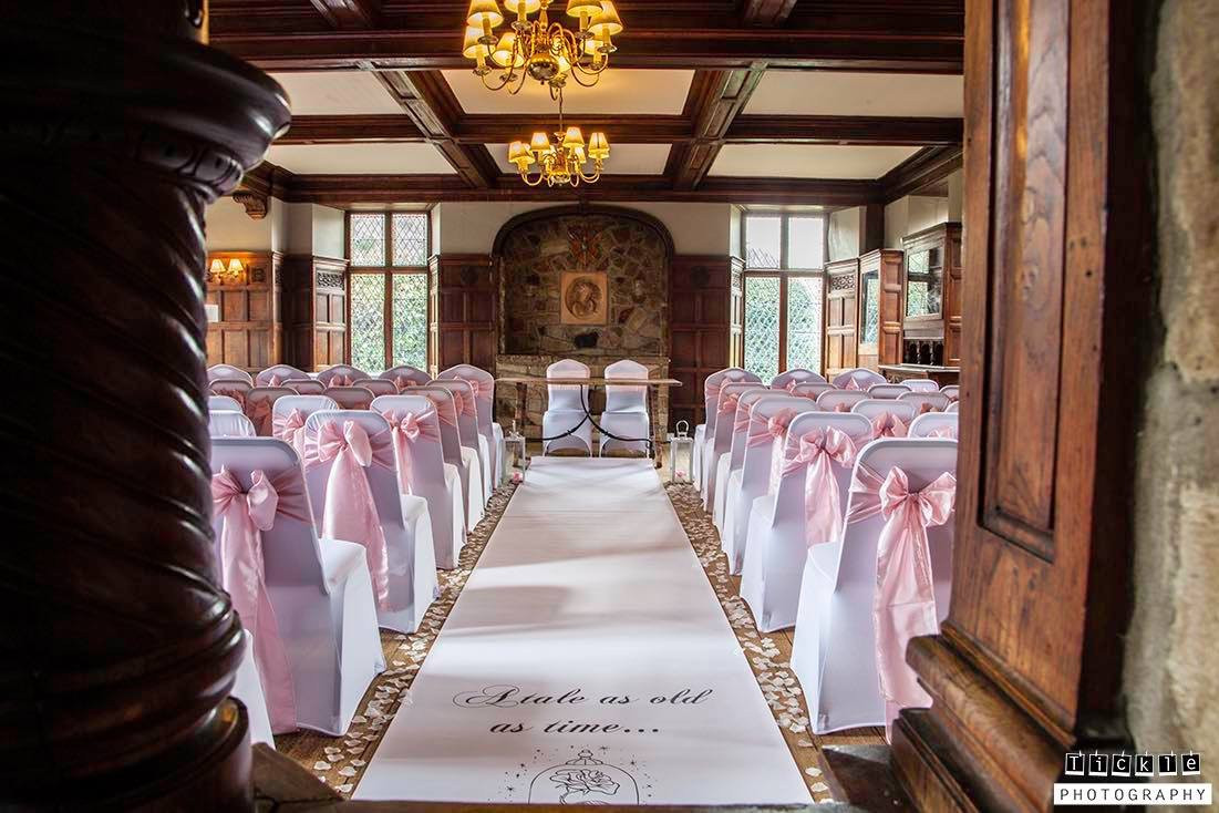 wedding chair covers east midlands director online australia cover hire loughborough notts leics derby weddings pink sashes rothley court