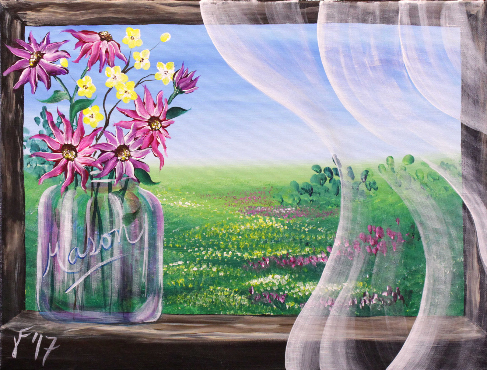 Painting with Jane: Free acrylic painting tutorials for