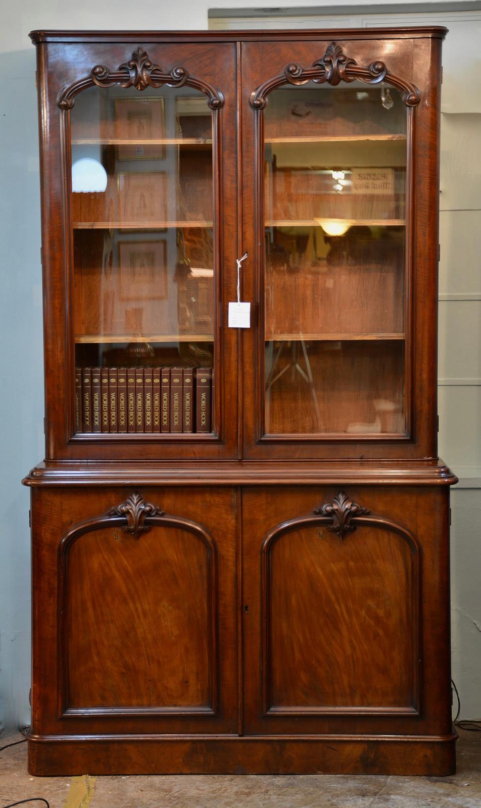 A Victorian Mahogany Bookcase R24995