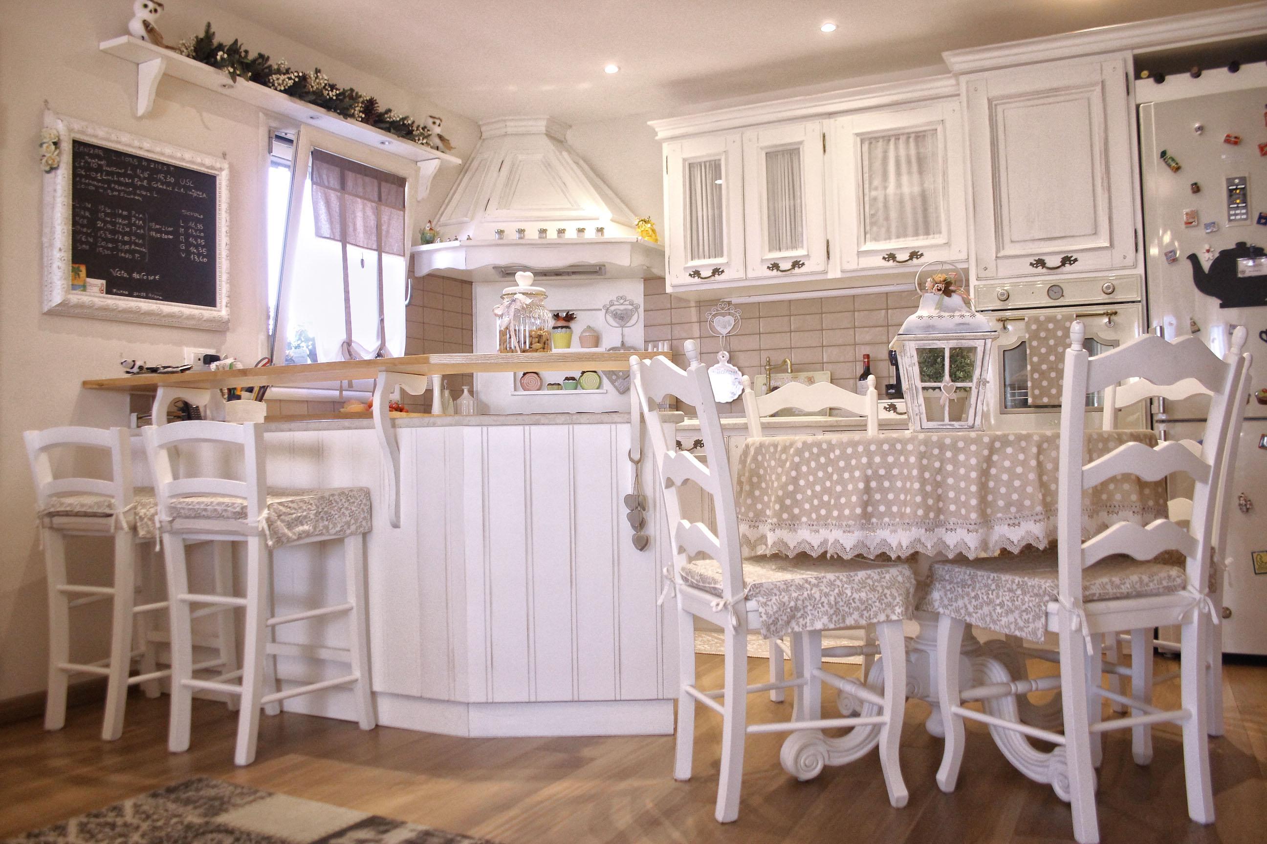 Cucine Shabby Chic su misura a Roma  Mastro Geppetto
