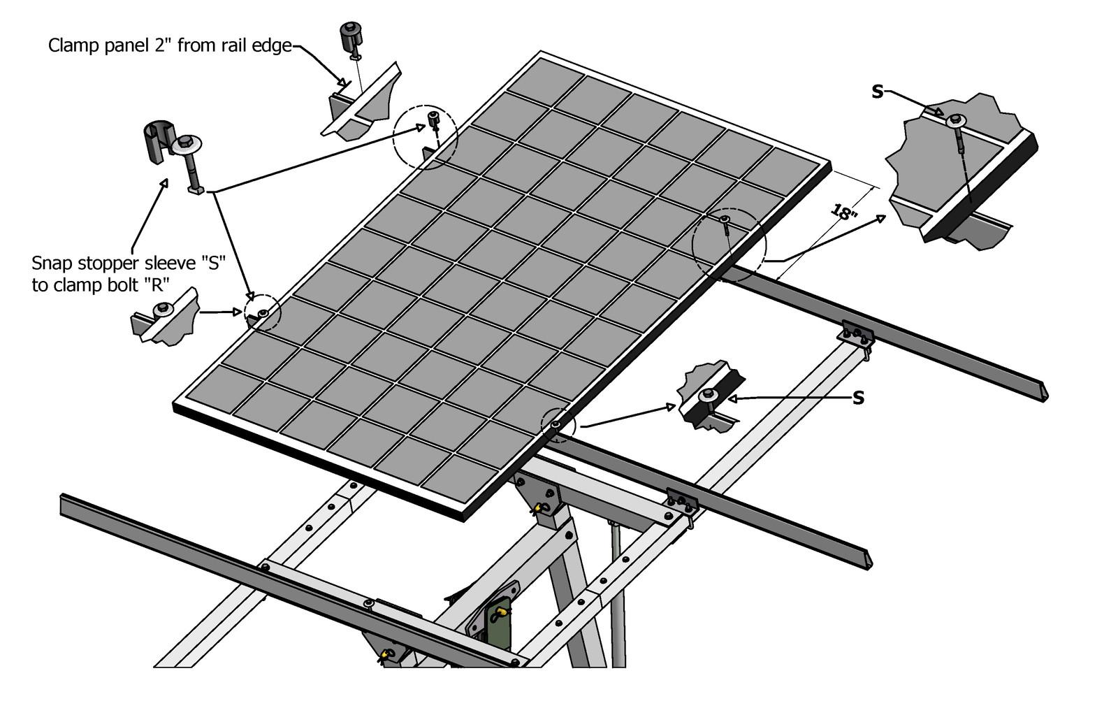 Suntactics solar tracker photos
