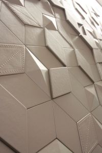 3d Leather wall panels. Pannelli in pelle 3d per pareti ...