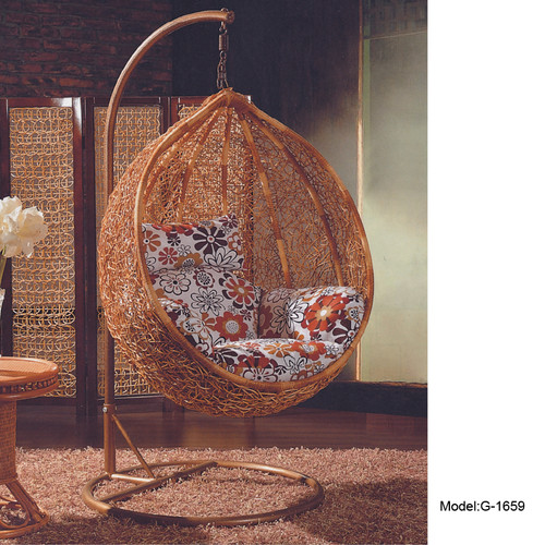 hanging chair qatar grey velvet dining chairs gc lifestyle wood egg