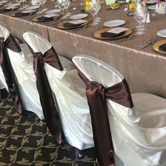 Places To Rent Chair Covers Near Me Fishing Platform 1 Cover Rentals Dallas Tx Black White Ivory 0 50 Sashes Our Satin Universal Will Fit Virtually Any Shape Of They Are Basically A Large Pillowcase That You Tie In Knot On The Back