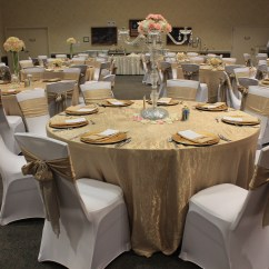 Gold Chair Covers With Black Sash Faux Leather Recliner 1 Cover Rentals Dallas Tx White Ivory 0 50 Sashes