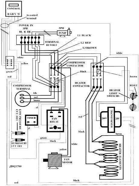 related with wiring diagram for goodman condensing unit