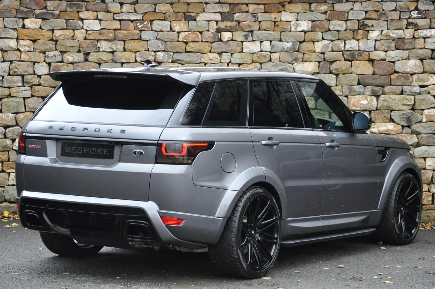 hight resolution of range rover sport wide body