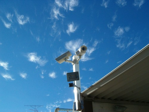 small resolution of pole cameras
