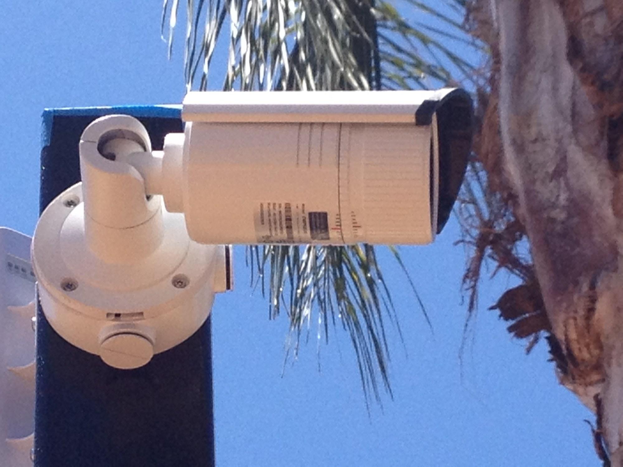hight resolution of pole cameras