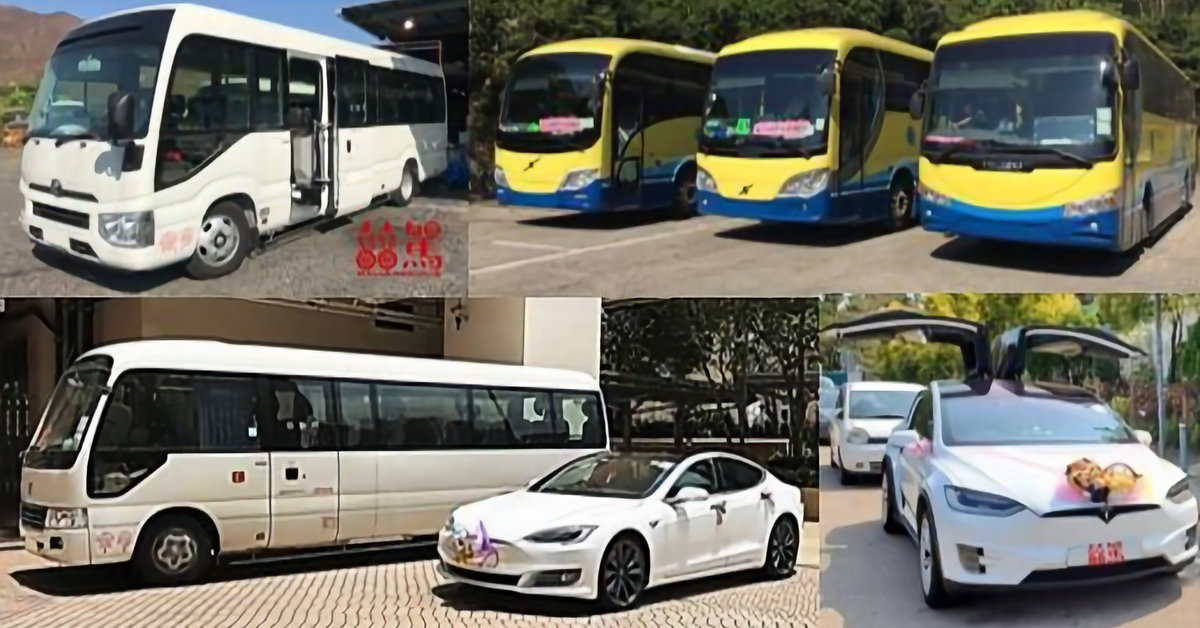 囍駕   HEICA - 旅遊巴 • 結婚花車   Tour Bus • Limousine