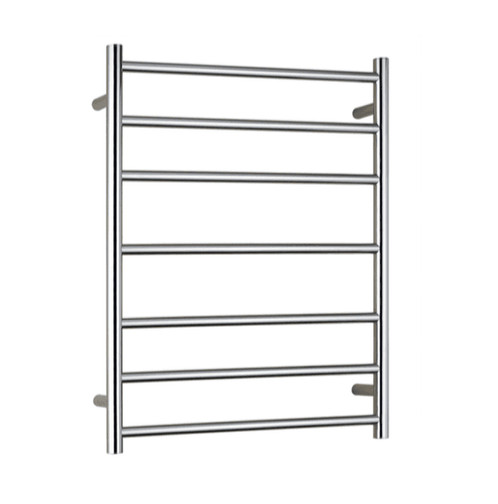 Heated stainless steel towel ladder round bar (Hard wire