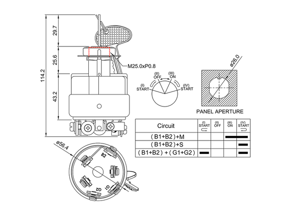 Battery Wiring Diagram Komatsu 60 6. . Wiring Diagram