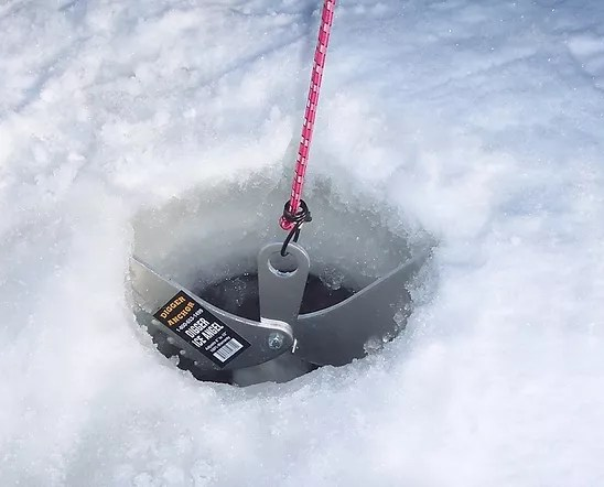 digger anchor ice auger carrier