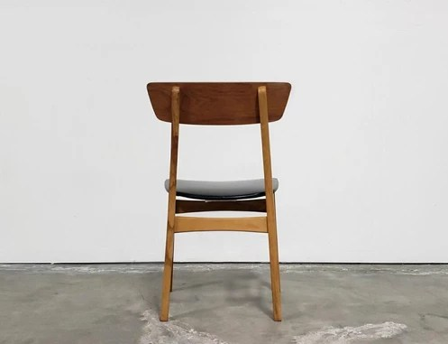vintage wooden chairs wood floor chair protector 150 00 19 25 w x 20 d 31 5 h 18 seat height each