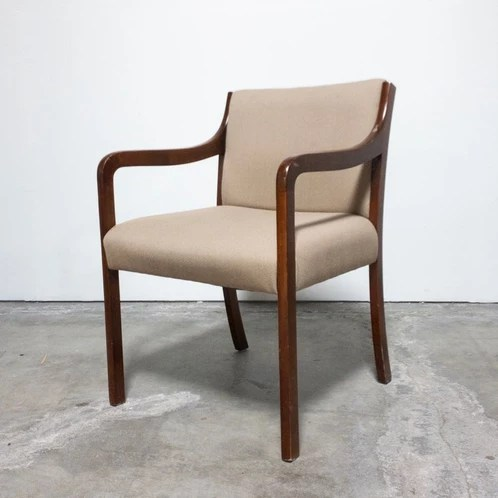vintage arm chair cheap ghost as is