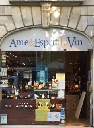 Ame Et Esprit Du Vin : esprit, Caviste, Esprit