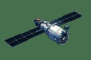 Satellite PNG images