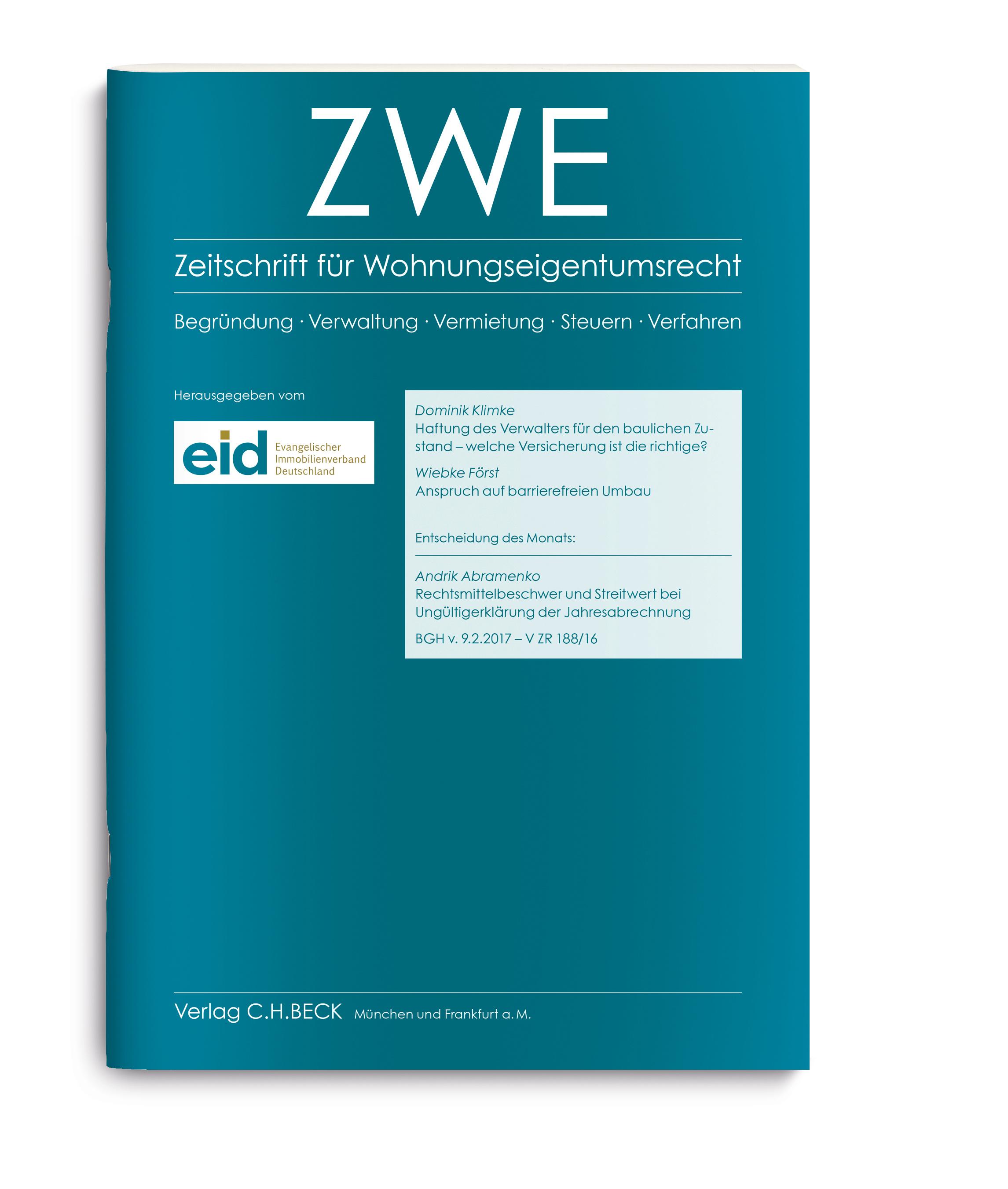 Gründerzeit - Mit Feuchtigkeit | Evangelischer Immobilienverband