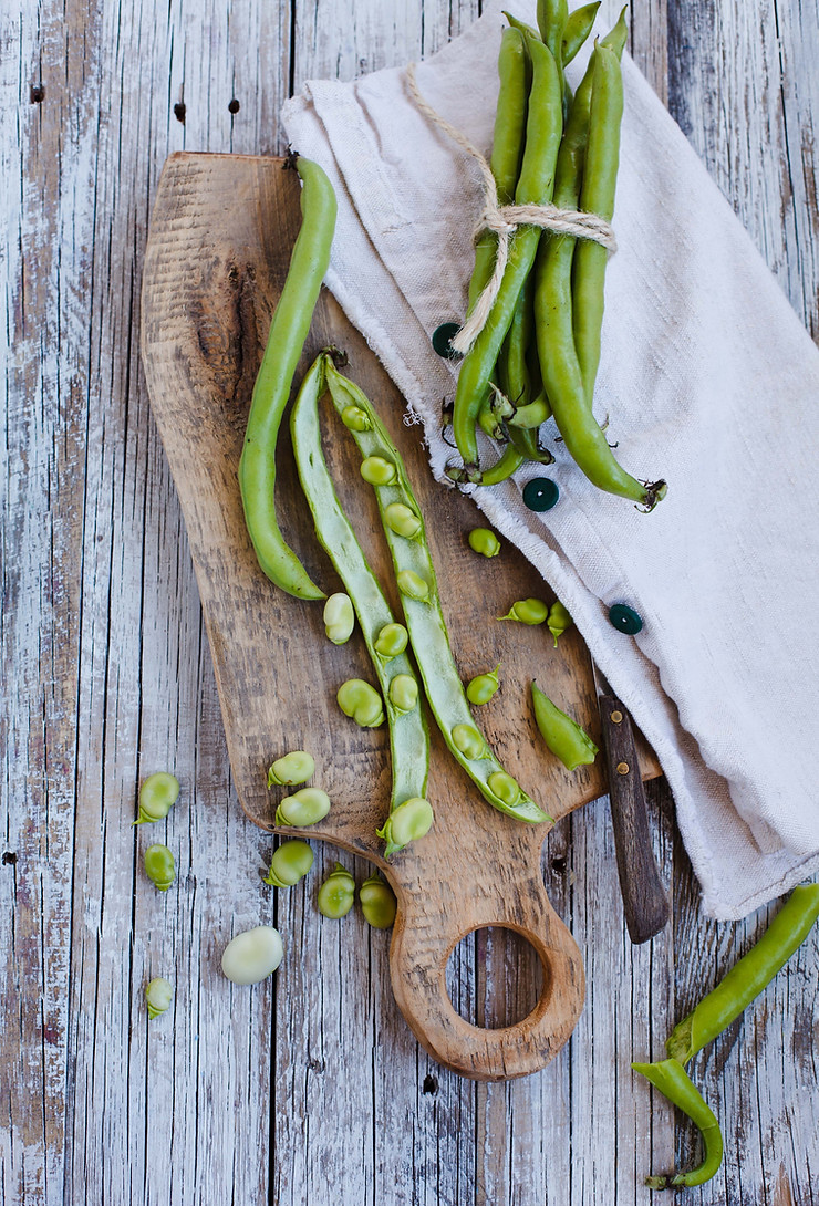 Crisp French Green Beans & Shallots