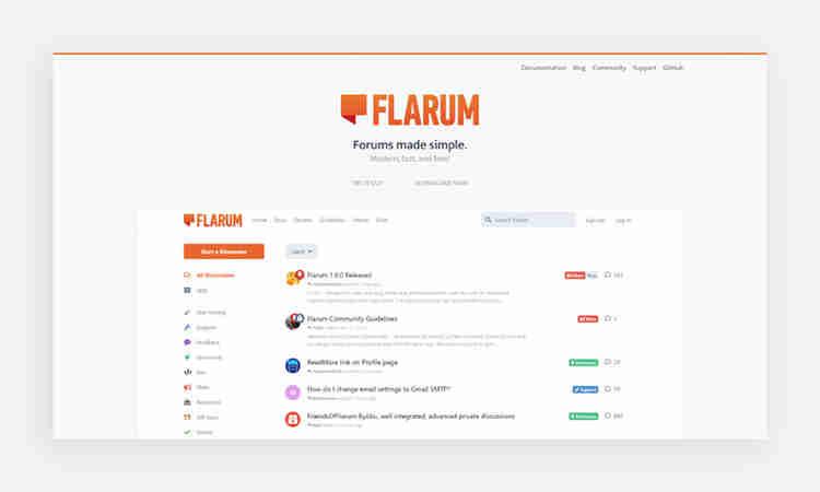 Flarum Forum Software