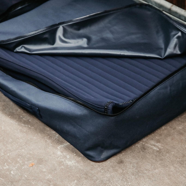 kentucky sac de rangement pour tapis de selle demivolte