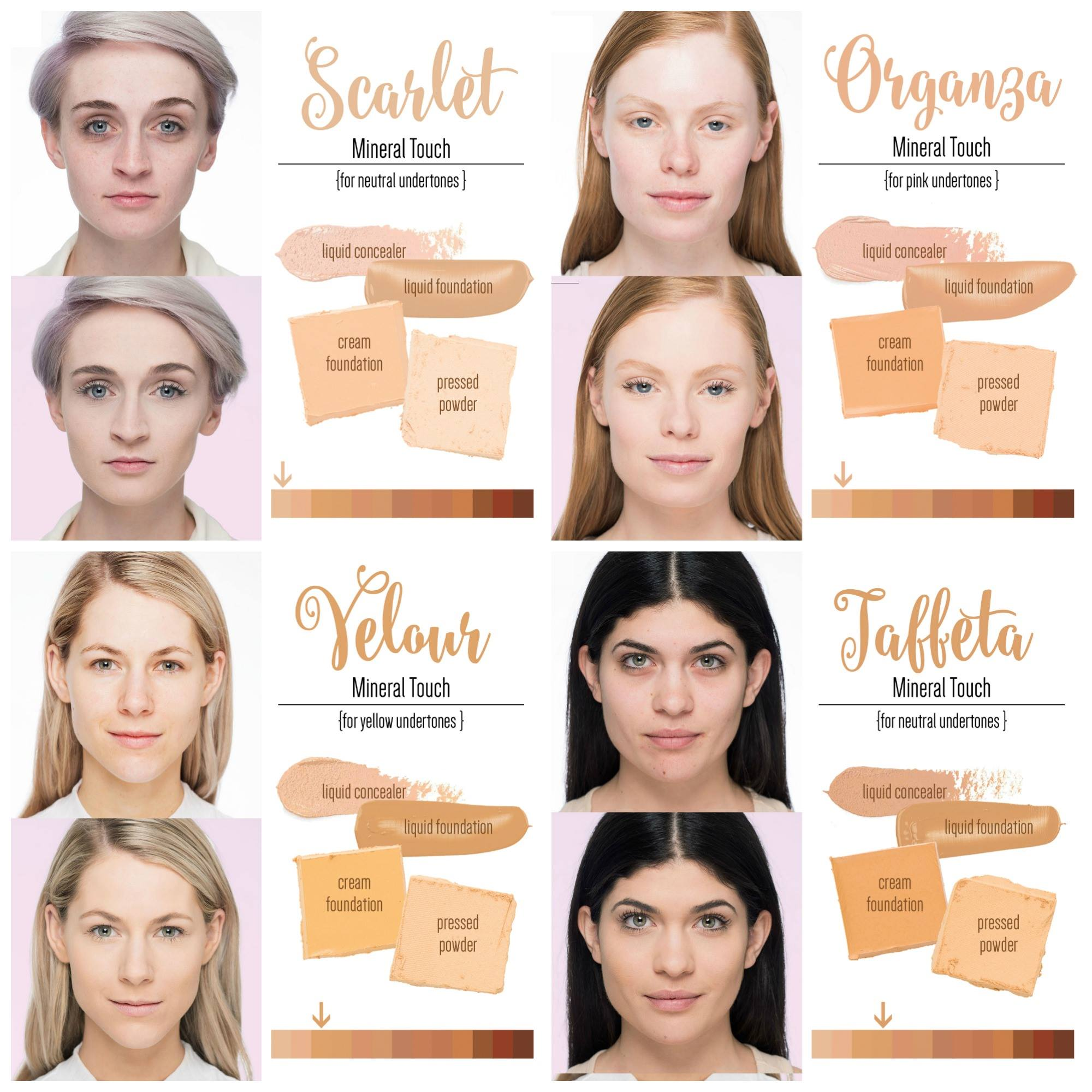 Younique Foundation Color Matching