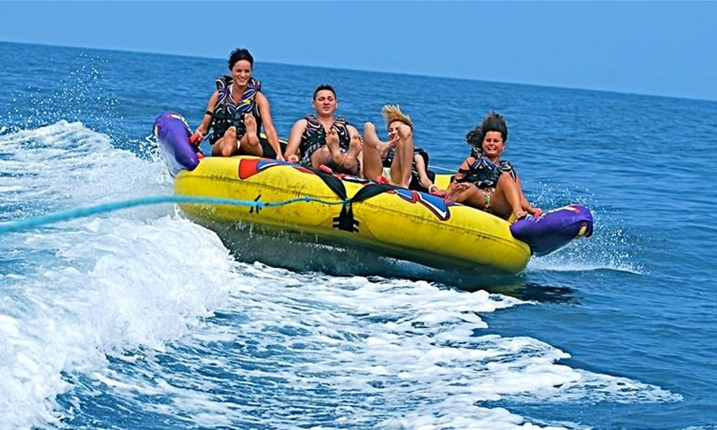 crazy sofa ride arm covers for sofas and chairs fun malta watersports things to do in