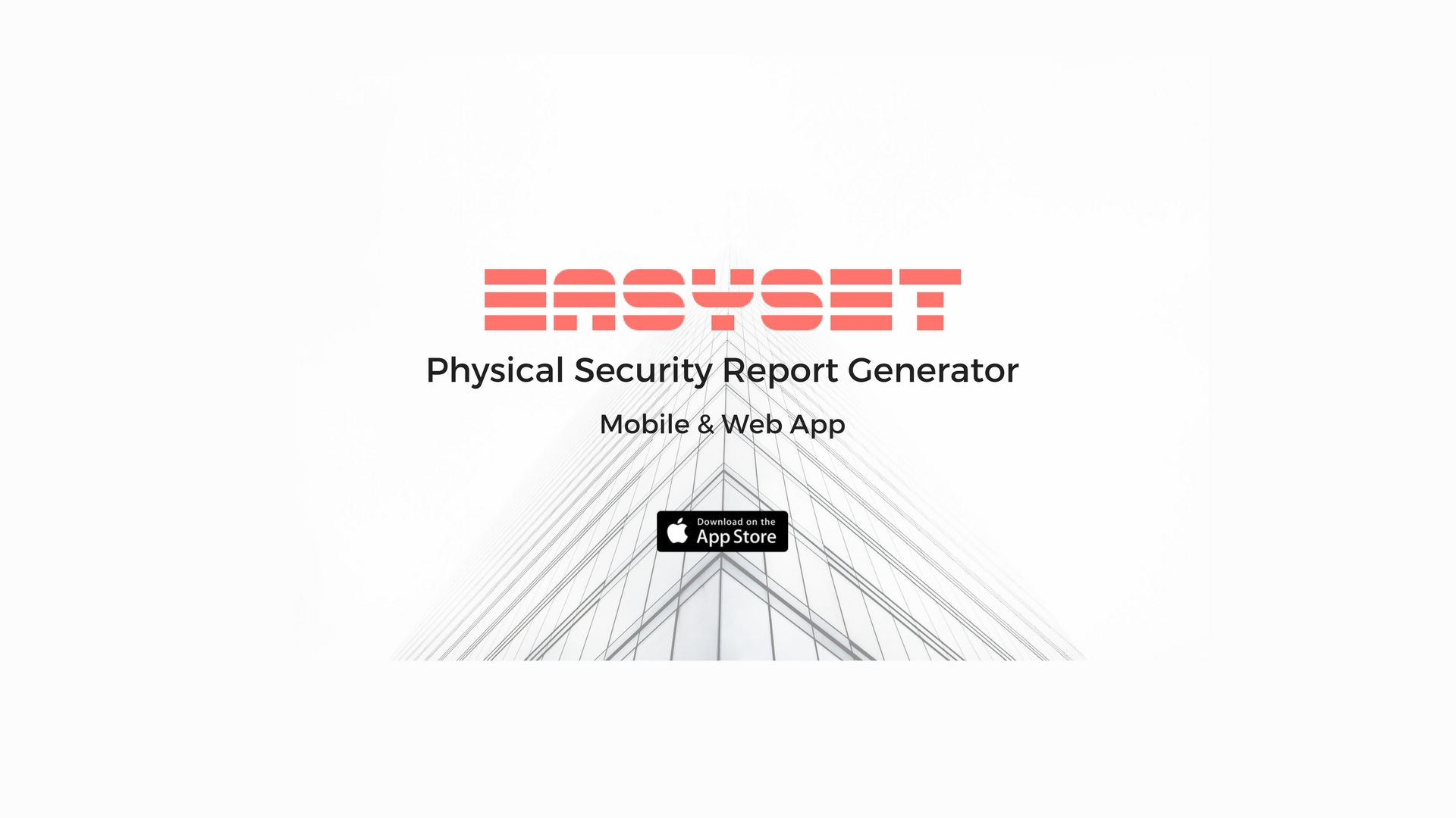 hight resolution of easyset physical security assessment report