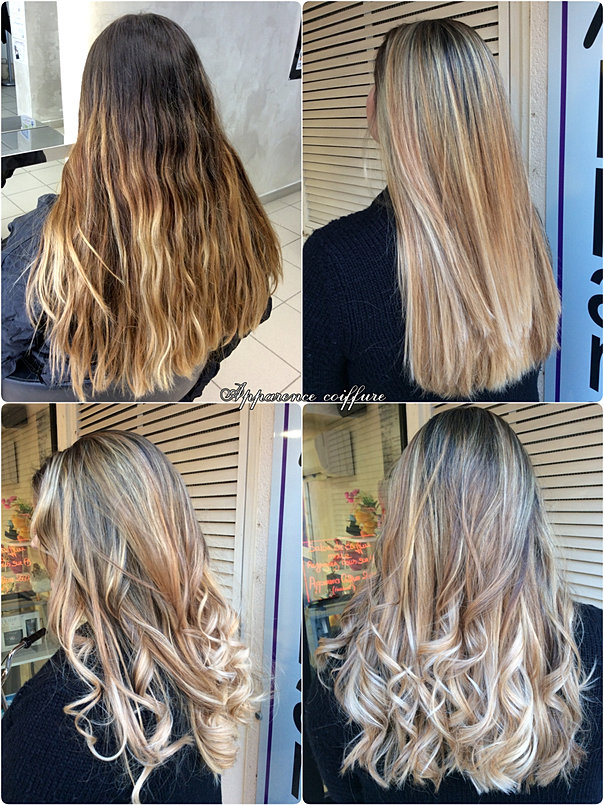 Apparence Coiffure AvantAprs