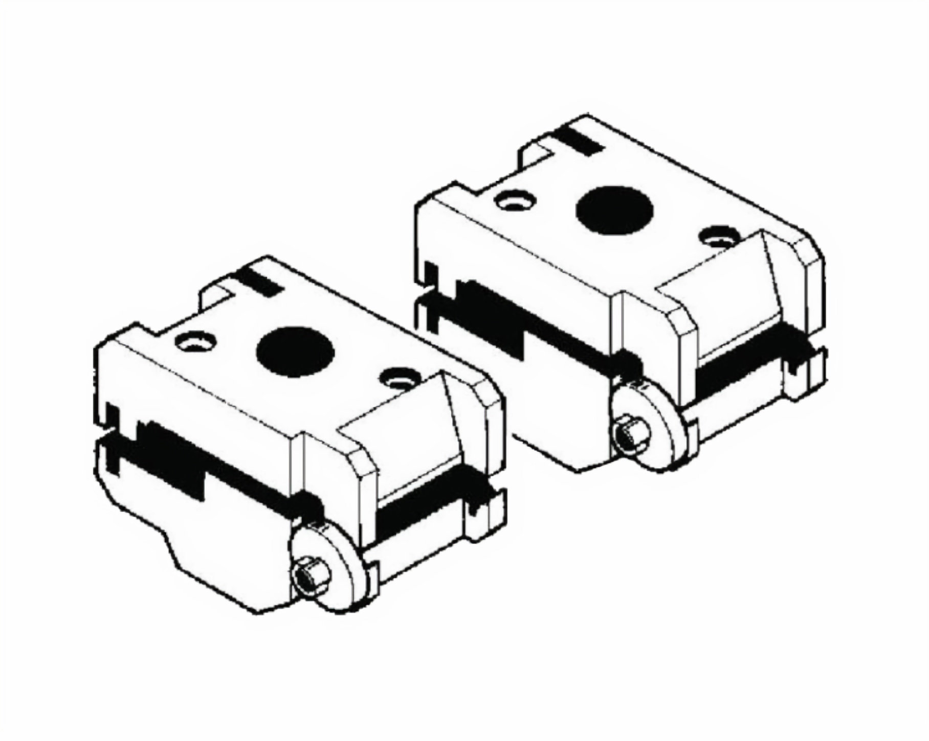 Silca Lancer Adaptor for FORD FO19P / FO20P and Chubb AVA Keys