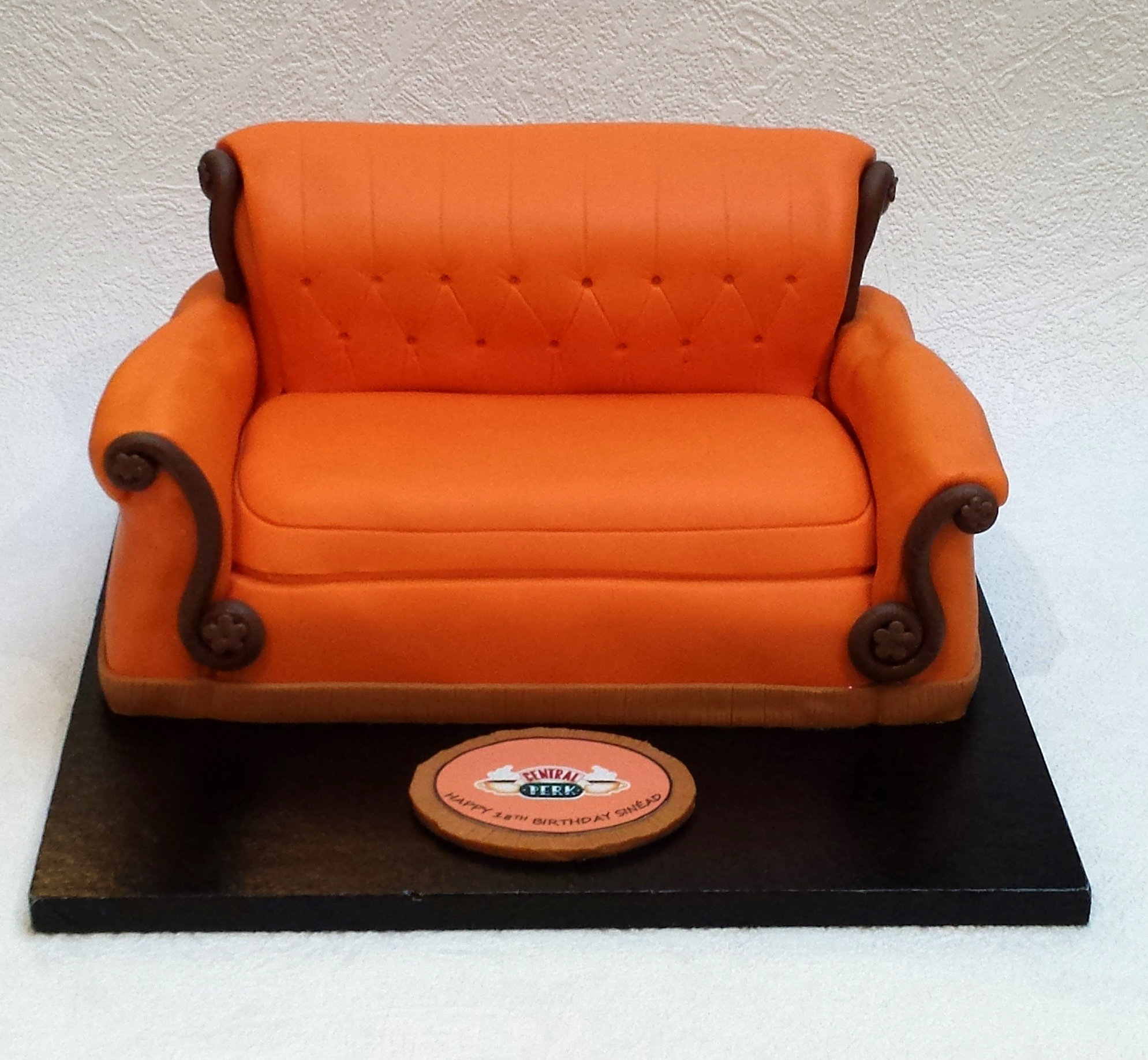 Sweet Tracey Cakes Friends Couch Cake Central Perk