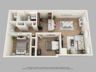4 Bedroom Apartments Near Ucf. The Lofts Furnished ...