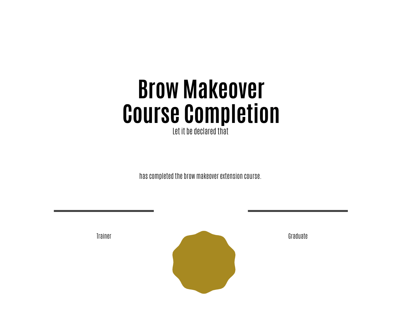 Brow Makeover (Lift/Lamination) Training Manual (Editable