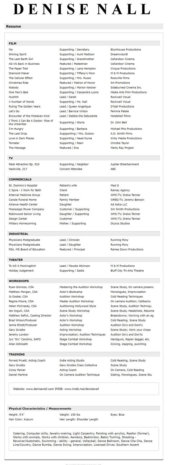 Resume Workshop Memphis - Resume Examples   Resume Template