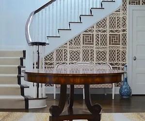 J S Designer Flooring Our Work | Designer Carpet For Stairs | Stair Railing | Farmhouse | Classical Design | Style New York | Rectangular Cord Treads